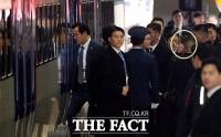 [TF포토] 백두혈통 김여정, KTX 탑승에 '철통경호'