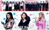 [TF포토] '2018 가온차트 뮤직어워드 빛낸 ★들'