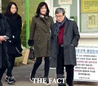 [단독포착] '국정농단 방조' 우병우, '설은 가족과' 구치소서 가족 접견