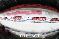 [TF포토] 봅슬레이 4인, '첫 주행부터 트랙 레코드 경신'