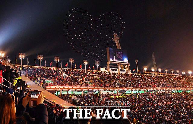 2018 평창동계올림픽 폐회식이 25일 오후 8시 강원도 평창 올림픽스타디움에서 열려 17일간의 여정을 마무리하고 대단원의 막을 내렸다. /평창=임영무·남윤호기자