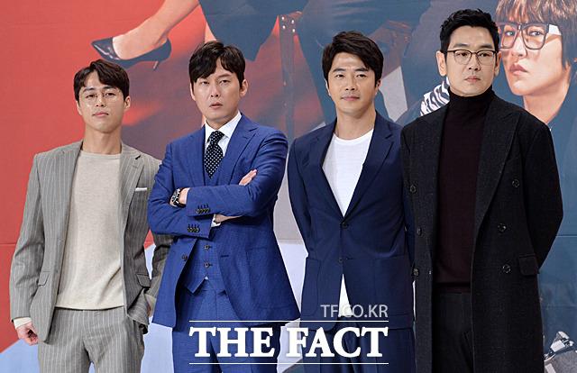 배우 오민석, 박병은, 권상우, 김태우(왼쪽부터)
