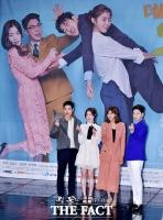 [TF포토] 김강우-유이-정상훈-한선화, '기대 모으는 꿀조합'