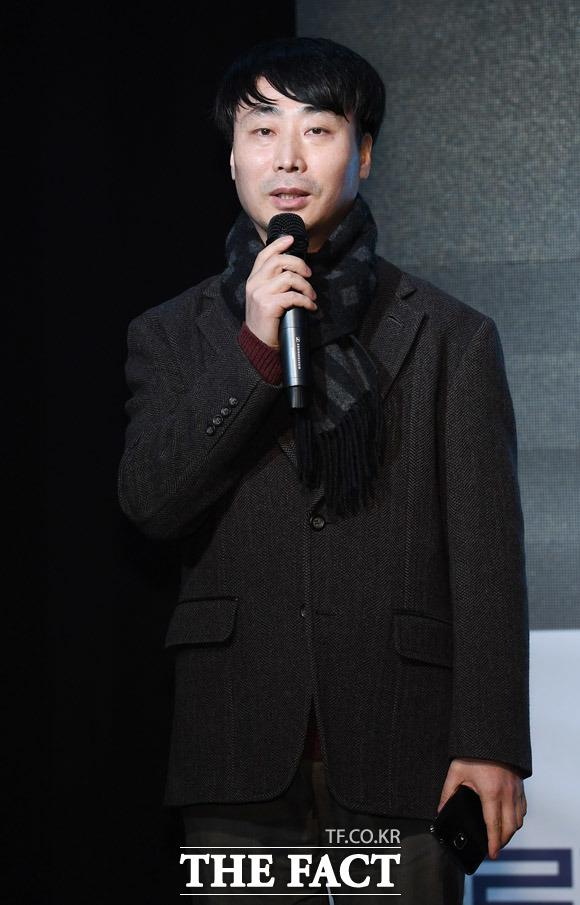 인사말하는 정병진 코리아닷컴 본부장