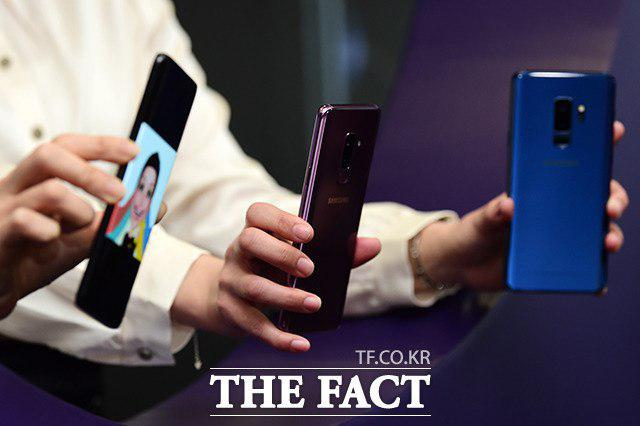 SK텔레콤·KT·LG유플러스 등 이동통신 3사는 9일 삼성전자 갤럭시S9 개통 행사를 진행했다. /남용희 기자
