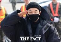 [TF포토] 군입대 태양, '잘 다녀오겠습니다!'
