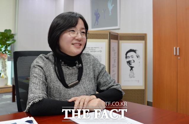 제윤경 의원은 가계부채 전문가라는 별명도 갖고 있다. /문병희 기자