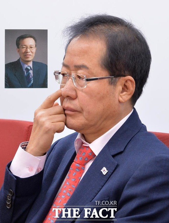 홍준표 대표가 영입을 추진했던 것으로 전해진 이석연 전 법제처장은 지난 18일 불출마 의사를 밝혔다. /문병희 기자, 이석연 전 처장 SNS