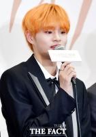 [TF포토] 이대휘, '오렌지 컬러의 강렬한 헤어스타일'
