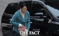 노현정, 단아한 한복 차려입고 고 정주영 명예회장 제사 참석