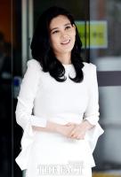 [TF포토] 밝은 미소 띠며 주주총회 참석한 이부진 사장