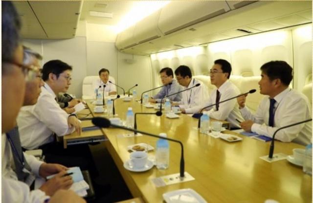 [베트남 순방현장] 대통령 전용기 'OX' ② 비밀 회의실 있다?