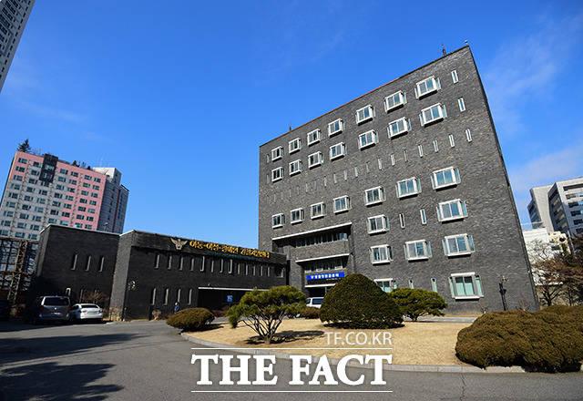 서울 용산구 갈월동에 위치한 경찰청 인권센터.