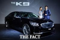 [TF포토] 기아차, 6년 만의 풀체인지 'THE K9' 공개!