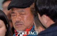 [TF포토] 경찰 출석 김흥국, '성폭행 혐의 피고소인 조사'