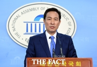 [TF포토] 우상호, 김기식 사퇴 촉구한 안철수에 '너무 나갔다' 일침