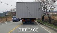 [TF영상기획] '위험천만' 적재불량 화물차…'도로 위 시한폭탄'