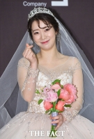[TF포토] 안소미, '4월의 아름다운 신부'
