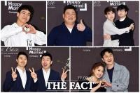 [TF포토] '품절녀' 안소미를 축하해주러 온 개그맨 동료들