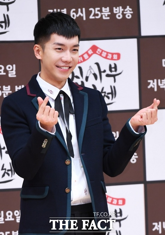 가수 겸 배우 이승기. 이승기는 6월 첫 방송을 앞두고 있는 케이블 채널 Mnet 새 오디션 프로그램 프로듀스48 MC로 낙점됐다. /배정한 기자