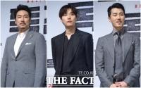 [TF포토] '독전' 조진웅-류준열-차승원, '여심 흔드는 세 배우'