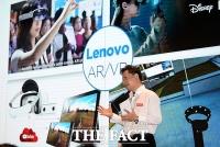 [TF포토] 미래형 스마트 디바이스 공개하는 강용남 대표
