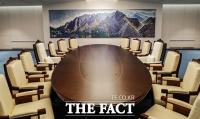 [남북정상회담] '모든 것에 의미를 담았다'…평화의 집 회담장 공개