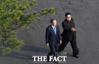 [남북정상회담] 문재인·김정은, '남북 정상의 도보다리 데이트'