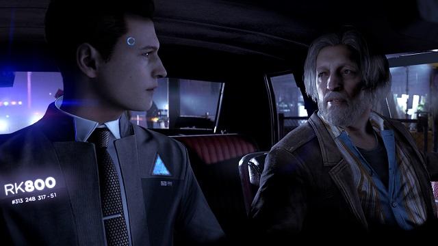 디트로이트: 비컴 휴먼의 한 장면. PS4용 헤비 레인 등을 개발한 퀀틱 드림 최신작이다.