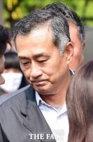 [TF포토] 가석방으로 풀려난 장세주 동국제강 회장