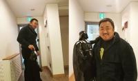 '챔피언' 마동석, 다스베이더 한방에 제압