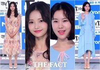 [TF포토] 하연수-김예원, '시선 사로잡는 화사한 원피스'