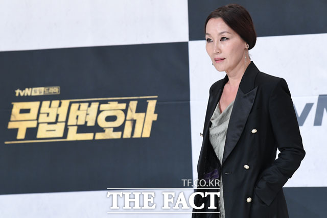 카리스마 악역 펼치는 배우 이혜영