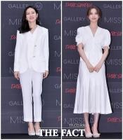 [TF포토] 손예진-나나, '청순미가 넘치는 올화이트 패션'
