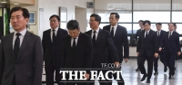 [TF포토] 구본무 회장 빈소 찾은 LG 고위임원단
