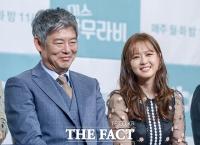 [TF포토] 성동일-고아라, 판사 선후배로 만난 '응사 부녀'