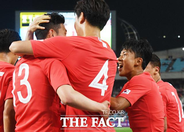 A매치 첫경기에 출전해 어시스트를 성공한 이승우!