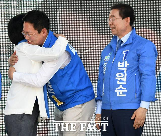 박원순 서울시장 후보...