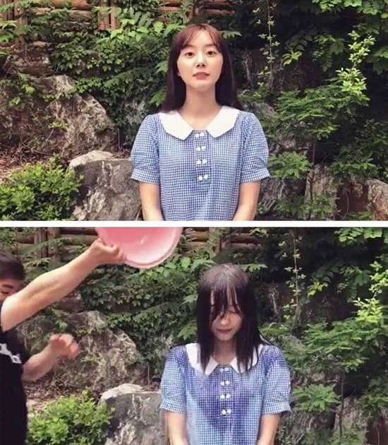배우 박세완은 4일 자신의 인스타그램에 아이스버킷 챌린지 참여영상을 게재했다./박세완 인스타그램