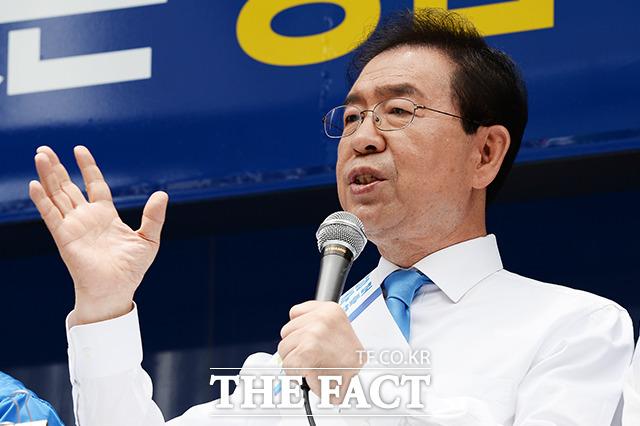 박원순 더불어민주당 서울시장 후보의 지원사격!