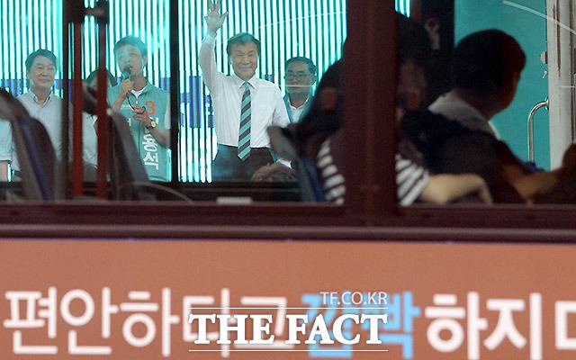 최선을 다하는 손학규 상임선대위원장