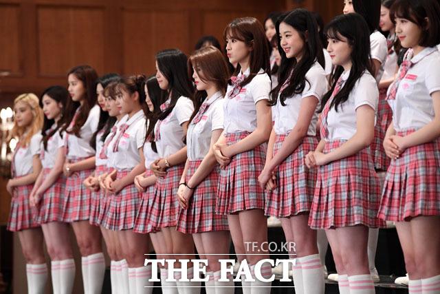 인형 같은 미모의 참가자들