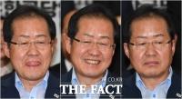 [TF포토] 홍준표, 자유한국당 완패...'황당-실소-침묵'