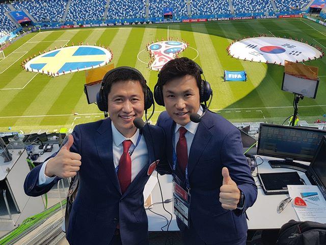 [한국 스웨덴] '이영표·이광용' 최고 시청률 경신…KBS 17%로 1위