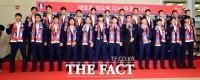 [TF포토] '새로운 각오로 다시 뛰자!'…러시아 월드컵 국가대표팀 귀국