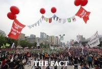 서울서 대규모 노동계 집회 열려…