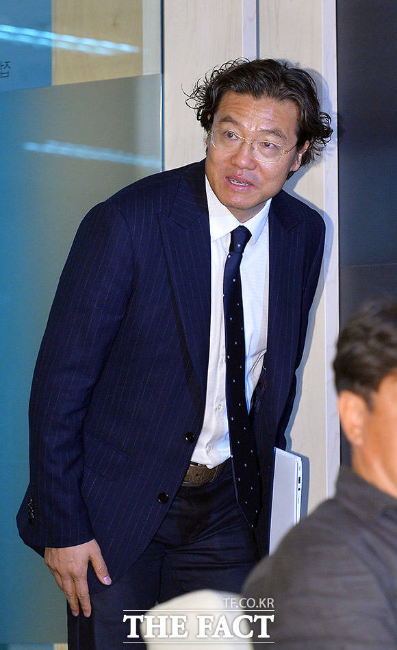 김판곤 대한축구협회 국가대표 감독 선임위원장