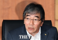 [TF포토] 윤석헌 금감원장, 증권사 CEO들과 취임 첫 대면