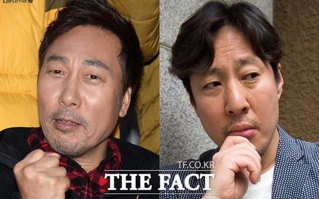 김정훈(오른쪽)은 히든싱어에 이문세와 나란히 출연한 뒤 그의 콘서트에도 특별게스트로 초청될만큼 서로 편한 형 아우 사이가 됐다. 사진 왼쪽은 가수 이문세. /더팩트 DB