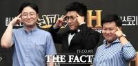 [TF포토] 김종민, 예능 '뇌피셜'에서 20년 만에 단독 MC